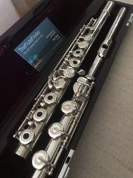 Flauto muramatsu ds flauto flauto-b foot / c # trillo / split e-splendido strumento musicale strumento musicale rame-nichel placcato flauto con custodia in Offerta