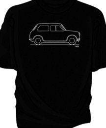 ef04a66e1 Original Sketch classic car t-shirt, Austin MiniFunny free shipping Unisex  Casual Tshirt
