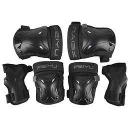 $enCountryForm.capitalKeyWord UK - Children Adults Outdoor Riding Skateboard Roller Skate Elbow Knee Pads Ice Sports Protective Gear Complete Protector 6PC Set
