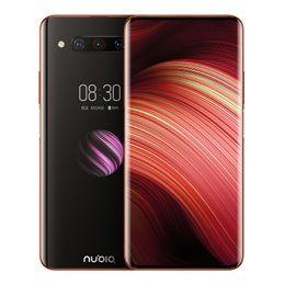 "Wholesale Original Nubia Z20 4G LTE Cell Phone 8GB RAM 128GB 512G ROM Snapdragon 855 Plus Octa Core 6.42"" Dual Screen 48MP Fingerprint ID Mobile Phone"