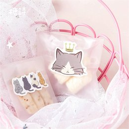 Discount cat stationery set - 45Pcs set kawaii Notebook fashion cute Roll the cat pattern Diary planner office decor school supplies stationery
