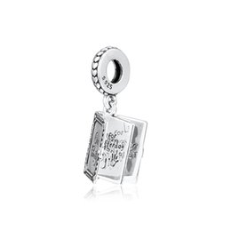 $enCountryForm.capitalKeyWord Australia - New Authentic 925 Sterling Silver Charm Family Book With Our Family To My Mother Thank You Pendant Bead Fit Pandora Bracelet Diy Jewelry