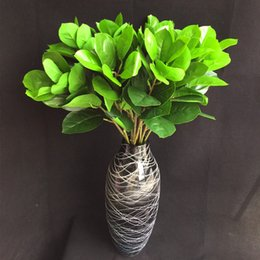 "$enCountryForm.capitalKeyWord NZ - Single Stem Fake Jackfruit Leaf (3 stems piece) 27.56"" Length Simulation Green Plant Greenery for Home Office Table Decoration"