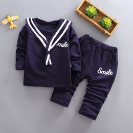 Cute Outfits For Spring Australia - good quality boys spring autumn clothing sets kids long sleeve outfits children school uniform casual sports clothes suits for boys