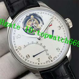 $enCountryForm.capitalKeyWord NZ - ZF 2019 New Luxury 504601 Watch Power Reserve Swiss Tourbillon Automatic Stainless Steel Case White Dial Black Leather Strap Mens Watch