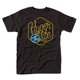 Hyperlite Mainline T-Shirt T-Shirt Para Os Homens S-3XL Branco Manga Curta Personalizado Plus Size Família Tshirt venda por atacado