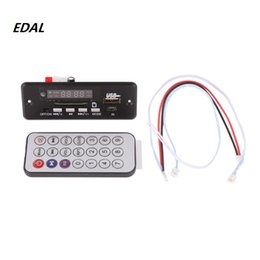 $enCountryForm.capitalKeyWord UK - MP3 Decoder Board Red Digital Display LED USB TF Wireless Communication Module Wireless Audio Module Car Remote Control