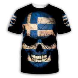 $enCountryForm.capitalKeyWord Australia - PLstar Cosmos Skull 3D Print Hoodie Sweatshirt Jacket shirts Mens for Womens Tees hip hop apparel fashion tops