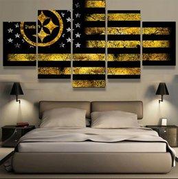Flagship, 5 pezzi Home Decor HD Stampato su tela Modern Art (senza cornice / con cornice) in Offerta