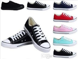 canvas shoes low price high Australia - Factory price femininas canvas shoes women and men high Low Style Classic Canvas Shoes Sneakers Canvas Shoe big size35-46 Drop ship #28