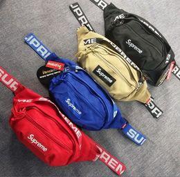$enCountryForm.capitalKeyWord UK - Supreme Waist Bag sup Waist 18SS 3M 44th Fashion Unisex Fanny Pack Fashion Waist Men Canvas Hip-Hop Belt Bag