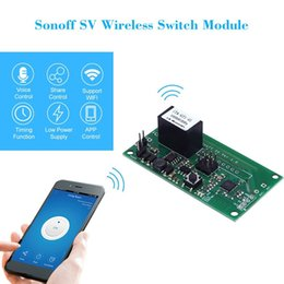 $enCountryForm.capitalKeyWord NZ - Sonoff Smart Wifi Switch Module Wireless Remote Control Home Controller Work with Alexa Google Android iOS DC5-24V