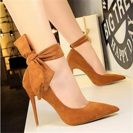Koreans new sandals online shopping - Summer Fashion Female Sandals ladylady New Rivet Pointed Toe Hollow High Heels Korean Simple Red Wedding Shoes