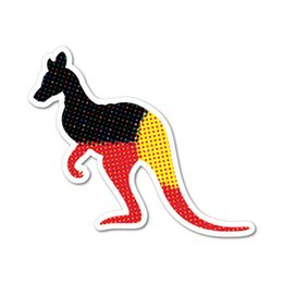 $enCountryForm.capitalKeyWord NZ - For Aboriginal Kangaroo Sticker Australian Car Flag Funny Funny Bumper Vinyl Accessories