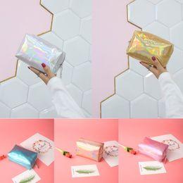 $enCountryForm.capitalKeyWord Australia - Fashion Lady Magic Color Waterproof Lipstick Storage Bag Clutch Bag High Quality Casual Handbags Casual Shoulder