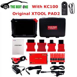 Vw Pads Australia - 100% Original Xtool PAD2 Pro With KC100 Auto Key Programmer Odometer Adjust For VW 4th 5th PAD 2 PADII Full Functions DHL Free
