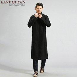 Multi Color Men s Long Sleeve Linen Outfit Traditional Chinese Cross Talk  Costume KK1386 HA cb4339fde