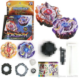 $enCountryForm.capitalKeyWord Canada - Beyblade Burst sun and moon Double God 4D Beyblades Metal Fusion God Spinning Top Bey Blades Toys Beyblade B00 846A