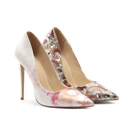 $enCountryForm.capitalKeyWord NZ - wholesale super quality high heels handmade fashion woman customize size dress shoe cool national shoes gorgeous discount price footwear