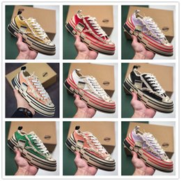 Spring Fall Canvas Shoes Australia - 2019 men's and women's low-top casual matching color canvas shoes men's trend versatile sports board shoes cork beggar shoes sneakers n21