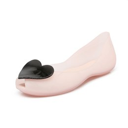$enCountryForm.capitalKeyWord UK - New sandals female summer flat jelly shoes sweet student beach wild fish mouth women's shoes
