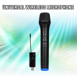 $enCountryForm.capitalKeyWord Australia - Wireless Microphone UHF Handheld Dynamic Microphone with bluetooth Receiver and 3.5mm Adaptor Selectable Channels Karaoke Microphone