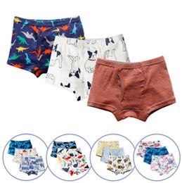 $enCountryForm.capitalKeyWord Australia - Baby Boys Panties 100% Cotton Kids Short Pants Printed Kids Shorts Boxers Cartoon Children Underwear Summer Kids Clothing Wholesale DHW3069