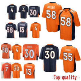 58 Von Miller Denver jerseys 55 Bradley Chubb Bronco 30 Phillip Lindsay 14  Courtland Sutton 13 Trevor Siemian 4 Case Keenum jersey 2019 new cc913c282
