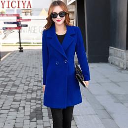 $enCountryForm.capitalKeyWord NZ - YICIYA women Autumn Winter jacket overcoat wool coat suits outerwear plus size large big long black slim blend female clothes