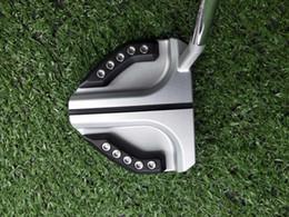 "Model 34 UK - 2019 New Model Golf G-GUNBOAT H silvery Putter Black Grip + Putter Headcover 32 33 34 35 36"""