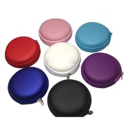euro coins Australia - 7Colors Women Girls Coin Purses Fashion Zipper Wallet Mini Euro Round Coin Holder CaseCoin Purse for Kids Women Ladies