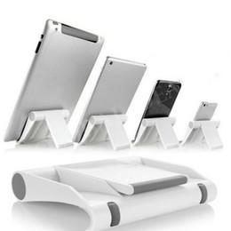$enCountryForm.capitalKeyWord Australia - Portable Adjustable Angle Stand Cradle Holder Flexible Desk Phone holder Support Bracket Mount for Mobile Phone Tablet flat