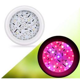 types hanging plants Canada - 360W UFO 36 LED Grow Light Full Spectrum Double Chips Hydroponic Flowering Plant Lamp Hanging Type Grow Lamp For Greenhouse
