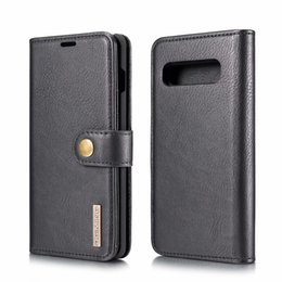Flip Covers For Samsung Galaxy S Australia - DG.MING Detachable Leather Cover For Samsung Galaxy S10 S9 S8 S7 Note 8 9 A9 A8 A7 A6 2018 J4 J6 case cover 2 in 1 Flip Wallet Phone Cases s