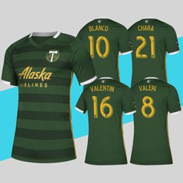 d60531a44 Top Quality MLS 2019 Portland Timbers Soccer Jersey Home Green Football  Shirt BLANCO VALERI VALENTIN More 10pcs Free DHL Shipping