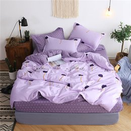 $enCountryForm.capitalKeyWord Australia - 3D Bedding Set Artistic Rose Painting Duvet Cover Set Comfortable Home Textile Bedclothes