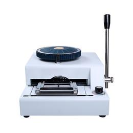 Convex coder affrancatrice encoder VIP carta di credito tessera macchina da scrivere manuale della macchina goffratura PVC per dimensioni 85,5 millimetri * 54mm in Offerta