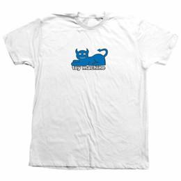 230d12fc03e53 Black White Toys UK - Toy Machine Skateboard Shirt Devil Cat White Men  Women Unisex Fashion