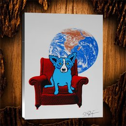 $enCountryForm.capitalKeyWord Australia - Space Chair -1,1 Pieces Home Decor HD Printed Modern Art Painting on Canvas (Unframed Framed) 24x32.