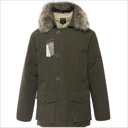 Warmest Goose Down Parka Australia - Latest Fashion Wool rich Brand Men's Arctic Anorak Down jackets Man Winter goose down jacket 90% Outdoor Thick Parka Coat warm outwear