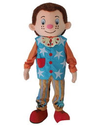 $enCountryForm.capitalKeyWord Australia - 2019 Factory direct sale Mr. Tumble mascot costume boy mascot costume for adult Halloween Carnaval costume