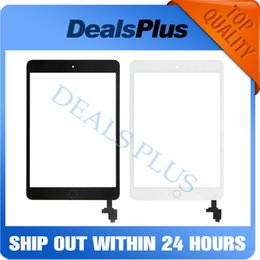 apple ipad touch tablet NZ - Replacement New Touch Screen Digitizer with IC+Home Button+Flex Cable For iPad Mini 1 A1432 A1454 A1455 Mini 2 A1489 A1490