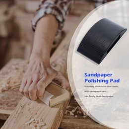 buffing blocks Australia - Woodworking Polishing Buffing Pad Abrasive Lightweight Environmentally Friendly and Durable Mat Convex Concave Sanding Blocks