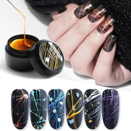 $enCountryForm.capitalKeyWord Australia - Mini-cans of nail-making METAL-COPPER sericin, Japanese-style nail-painting adhesive, mirror glue and wire-drawing glue