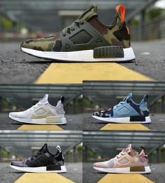8a3dbd7b4 high quality ultra Boost NMD Runner Primeknit PK XR1 camo black green  Casual shoes Men Women nmds R1 Classic sneaker Outdoor fashion