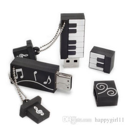 Promotions Flash Drive Australia - NEW ARRIVAL Sales promotion Genuine Cartoon Usb Flash Drive Keyboard Pendrive Electronic Organ Usb Memory U252