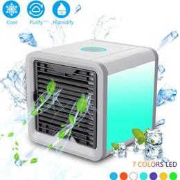 $enCountryForm.capitalKeyWord Australia - Mini USB Portable Air Conditioner Conditioning Humidifier Purifier Light Desktop Arctic Air Cooler Fan For Home Office