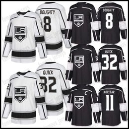Wholesale Los Angeles Kings Drew Doughty Anze Kopitar Jonathan Wayne Gretzky Quick Dustin Brown Carter Stitched New