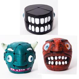 $enCountryForm.capitalKeyWord Australia - 3x3x3 Carni Chaak Ghost Head Type Magic Cube Twist Puzzle Fancy Toy Brain Teaser