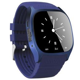 Samsung Smart Watches Camera Australia - M26 smartwatch Wirelss Bluetooth Smart Watch Phone Bracelet Camera Remote Control Anti-lost alarm Barometer V8 A1 U8 DZ09 watch for Samsung